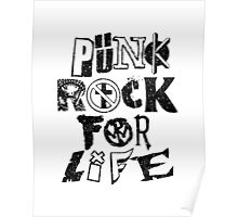 Punk Rock For Life Poster