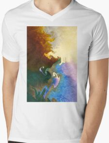 Wonderment Mens V-Neck T-Shirt