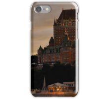 Fairmont Le Chateau Frontenac Quebec, Canada iPhone Case/Skin