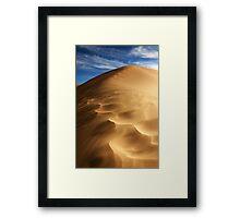 Ripples of Sand Framed Print