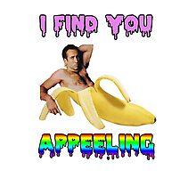 Nicolas Cage Inside A Banana Photographic Print