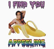 Nicolas Cage Inside A Banana by ticklish-wizard