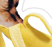 Nicolas Cage Inside A Banana Sticker