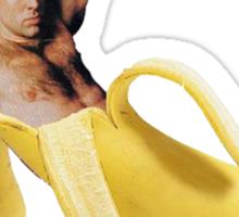 Nicolas Cage Inside A Banana Sticker
