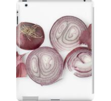 Red Onion as a Healthy and Nutritious Dietary Supplement  iPad Case/Skin