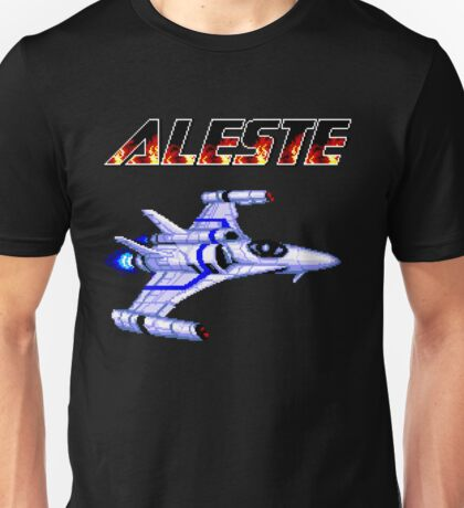 Aleste - Title Screen Unisex T-Shirt