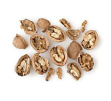 Walnuts as Healthy and Nutritious Dietary Supplement  Photographic Print