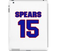 Basketball player Odie Spears jersey 15 iPad Case/Skin