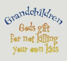 Grandchildren  gods gift for not killing your own children  by Sharon  Taylor