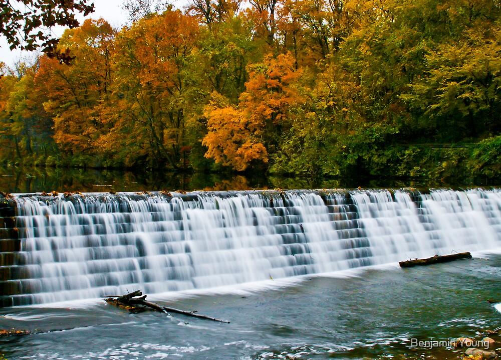 Stony Creek Dam by Benjamin Young