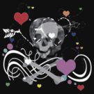 Skulls and Hearts by Aliesha Hamrick