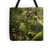 Silence in the Green Forest Tote Bag