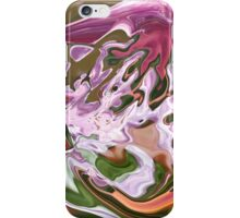 violet shape with lilac shades iPhone Case/Skin