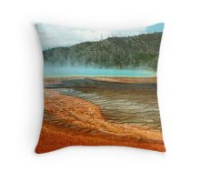 Prismatic Composition Throw Pillow