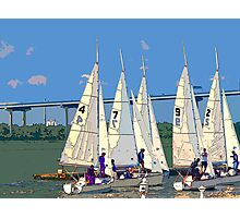 Sailing Team Photographic Print