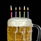 Birthday Beer by Maria Dryfhout