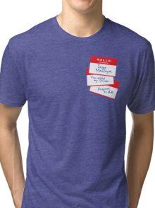 Hello Tri-blend T-Shirt