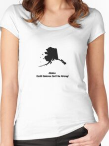 Alaska Women's Fitted Scoop T-Shirt