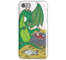 Some Days the Dragon Wins iPhone Case/Skin