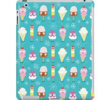 funny pattern of ice cream iPad Case/Skin