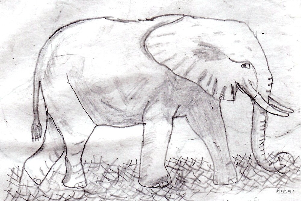 Elephant by dabak