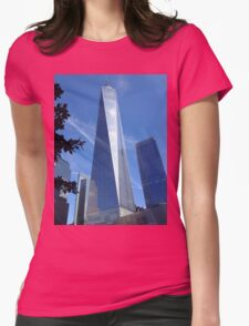 Freedom tower Womens Fitted T-Shirt