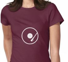 DISC & STYLUS Womens Fitted T-Shirt