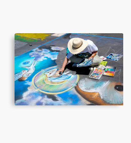 Calk Color Artist. Imadinari Festival Canvas Print