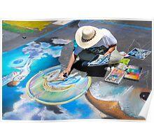 Calk Color Artist. Imadinari Festival Poster