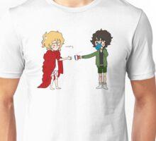 Grumpy Dandelion and Green Thumb Unisex T-Shirt