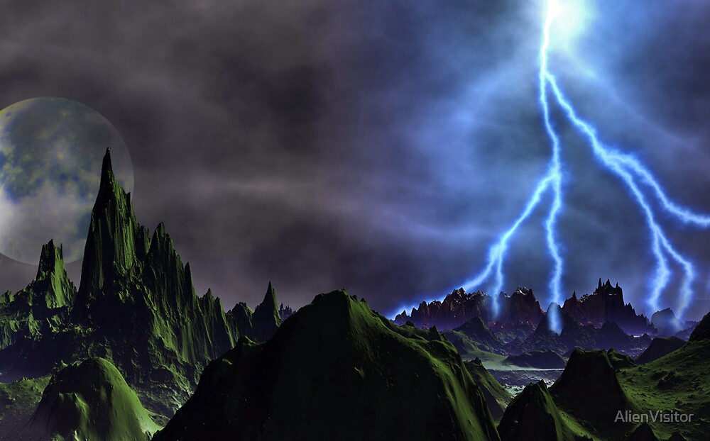 The Storm Cometh!! by AlienVisitor
