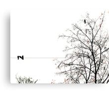 The Crows Canvas Print