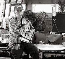 Autoharp Player, Farmer's Market-McMinnville, Tennessee by © Joe  Beasley IPA