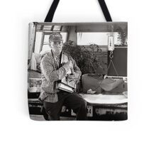 Autoharp Player, Farmer's Market-McMinnville, Tennessee Tote Bag