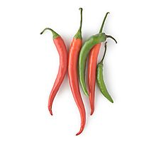 Chili Peppers Photographic Print