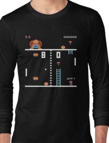 Donkey Pong Long Sleeve T-Shirt