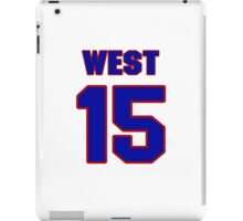 Basketball player Roland West jersey 15 iPad Case/Skin