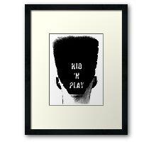 Kid N Play High Top Hair T-shirt Framed Print