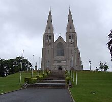 St. Patrick's RC Cathedral, Armagh by Pat Herlihy