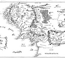 Middle Earth, black and white by vilver