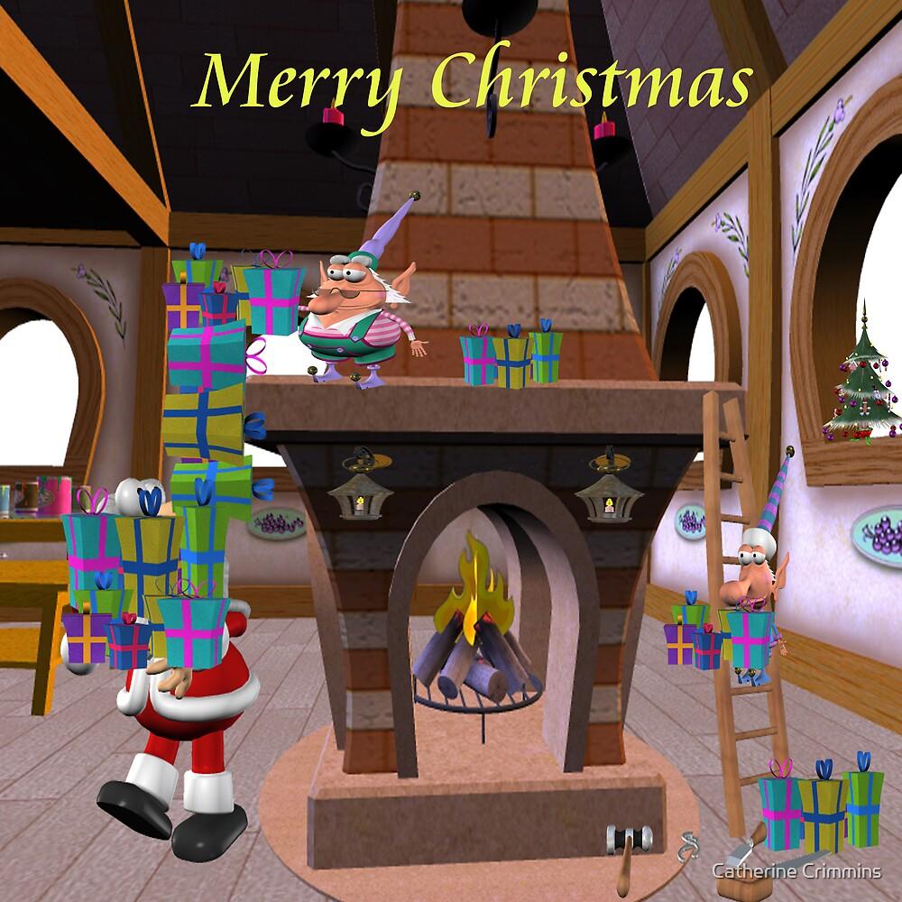 Santa's Work Shoppe by Catherine Crimmins