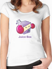 Cute Pun: Juice Box Women's Fitted Scoop T-Shirt
