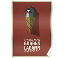 Gurren Lagann Poster Poster