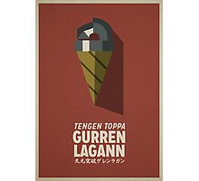 Gurren Lagann Poster Photographic Print