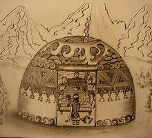 """"""" Urta"""" -kyrgyz national house by aidai"""