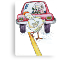 Chicken Dance Canvas Print