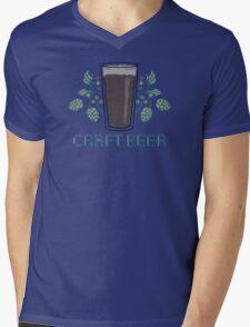 Craft Beer Mens V-Neck T-Shirt