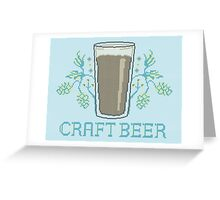 Craft Beer Greeting Card