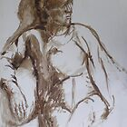 Life Study in Brush and Ink by more  ed