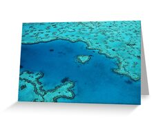 Heart Reef  Greeting Card